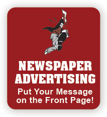 Button for Newspaper Advertising Login Screen