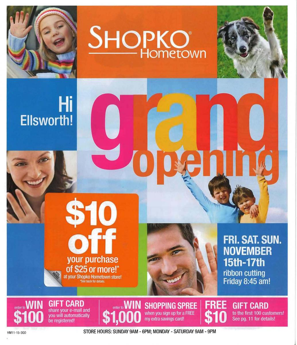 Image of NewsNotes Repositionable Label on Shopko Insert